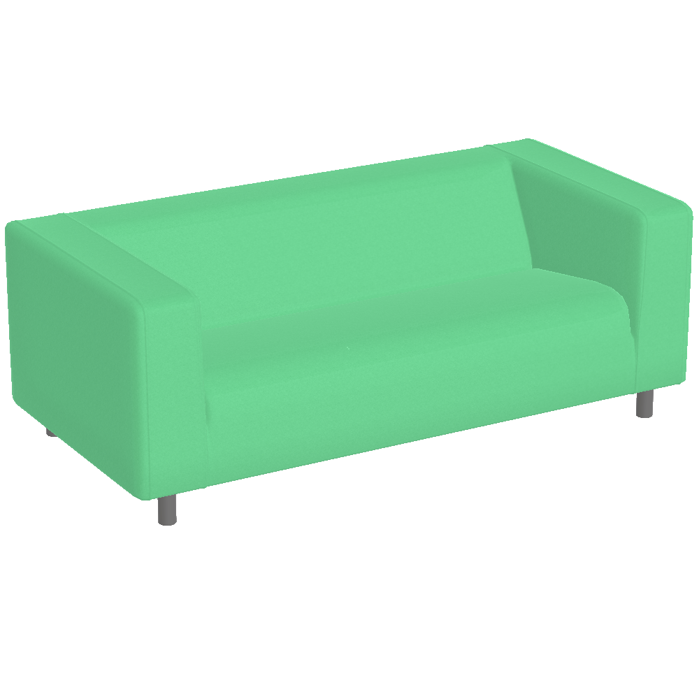 Free Try Out Of Klippan Sofa Green From Ikea In 3d Vr And Ar