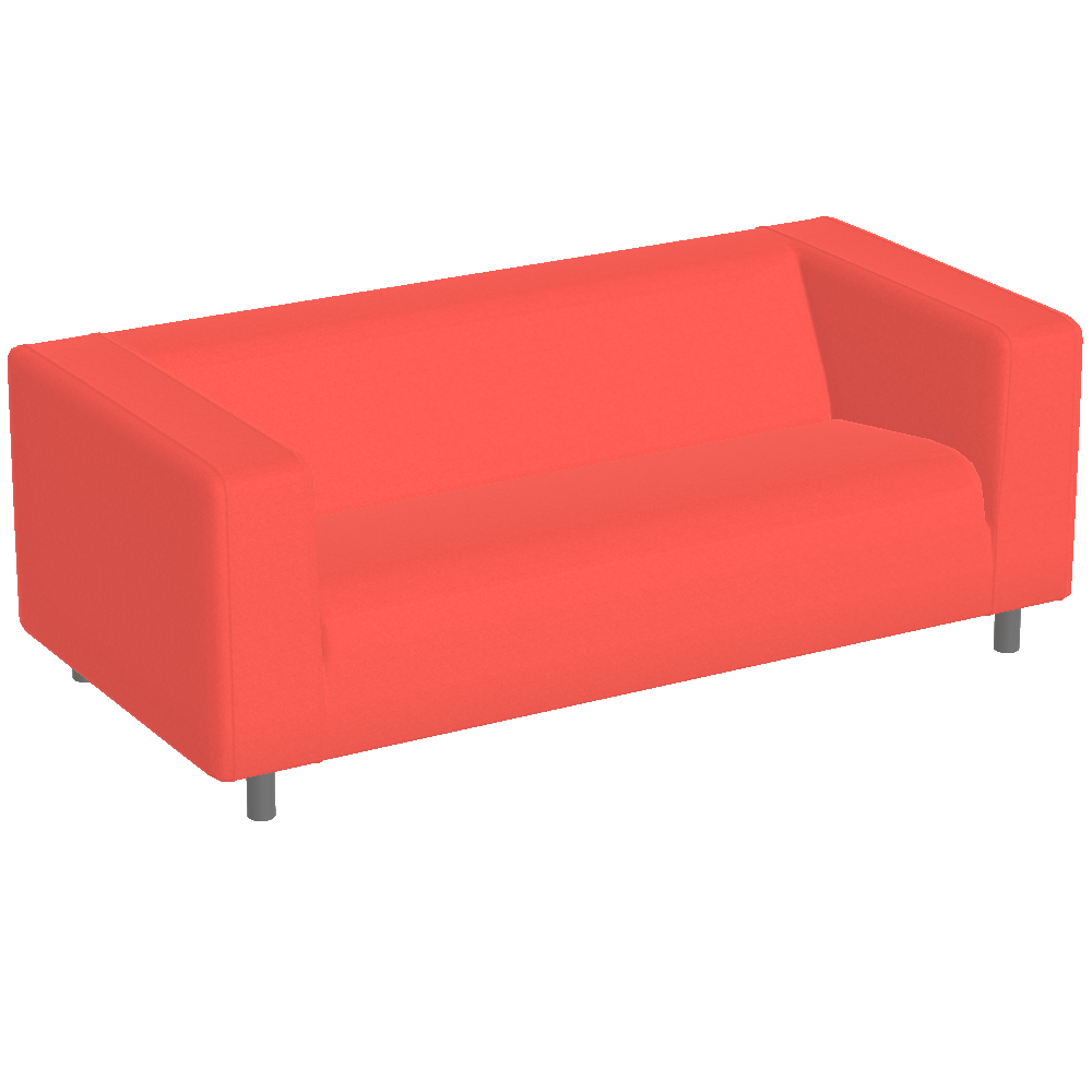 Preview of Klippan sofa red