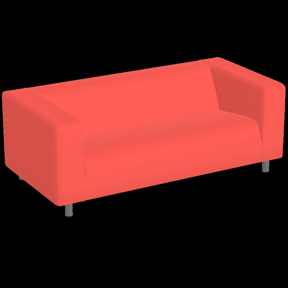 Klippan Sofa Red