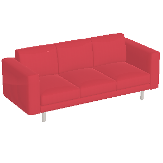 Preview Of Norsborg 3 Seat Sofa Red