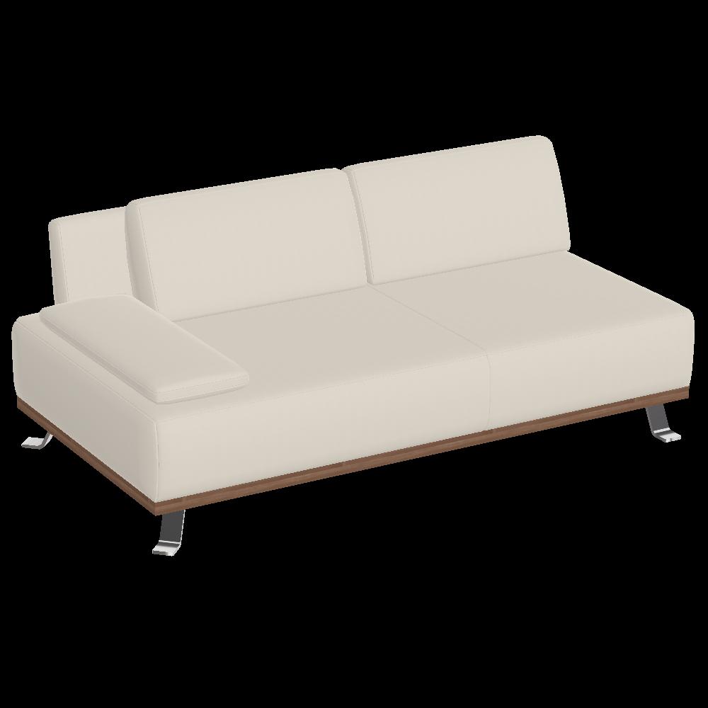 Tivoli Bank 2-Sitzer mit 1 Armteil