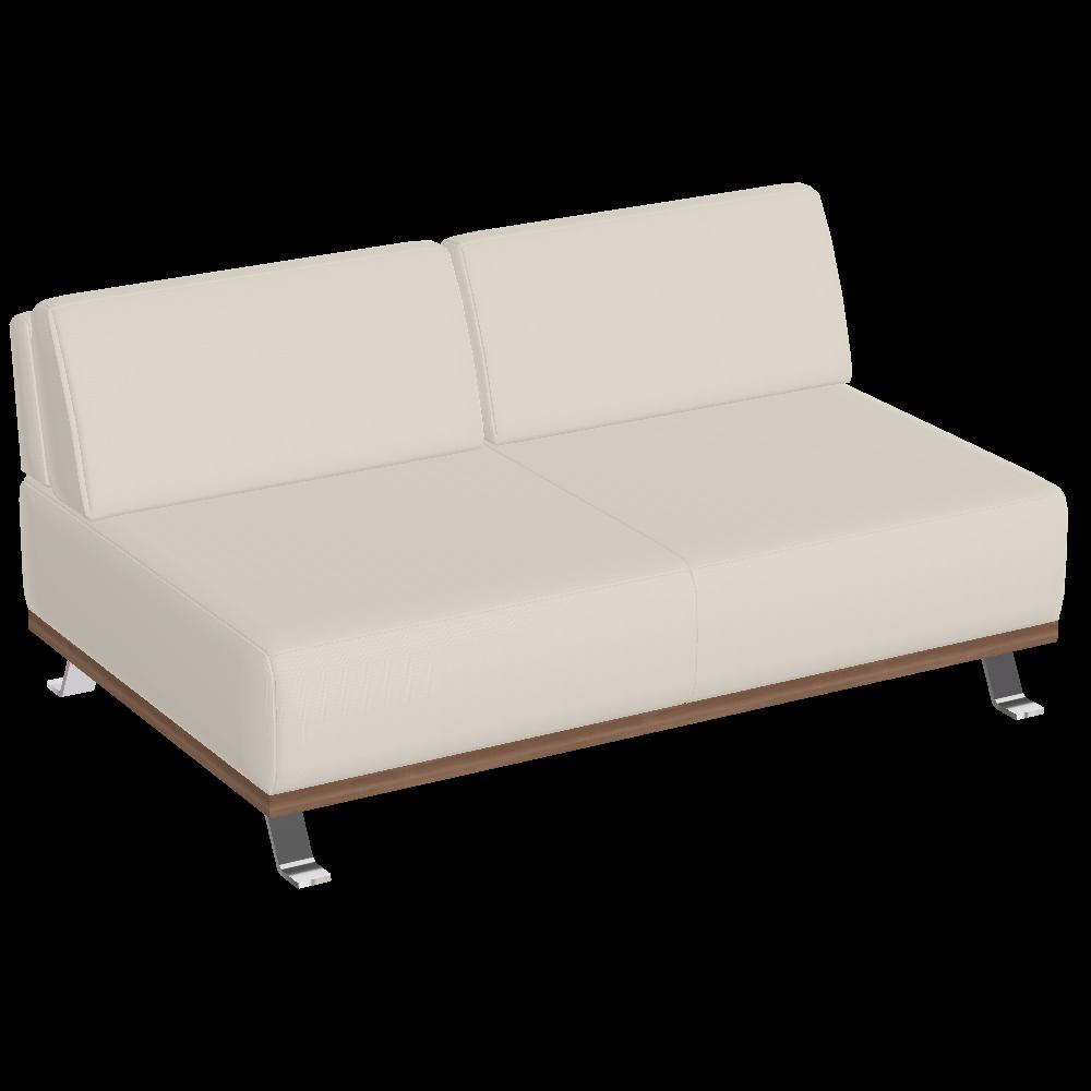 Tivoli Bank 2-Sitzer ohne Armteil