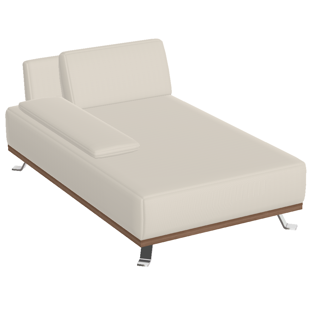 Tivoli Chaiselongue mit 1 Armteil