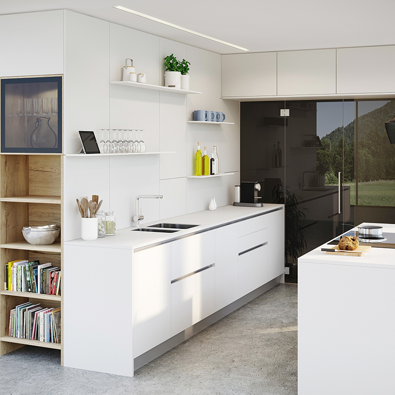 VIDA kitchen wall with sink unit