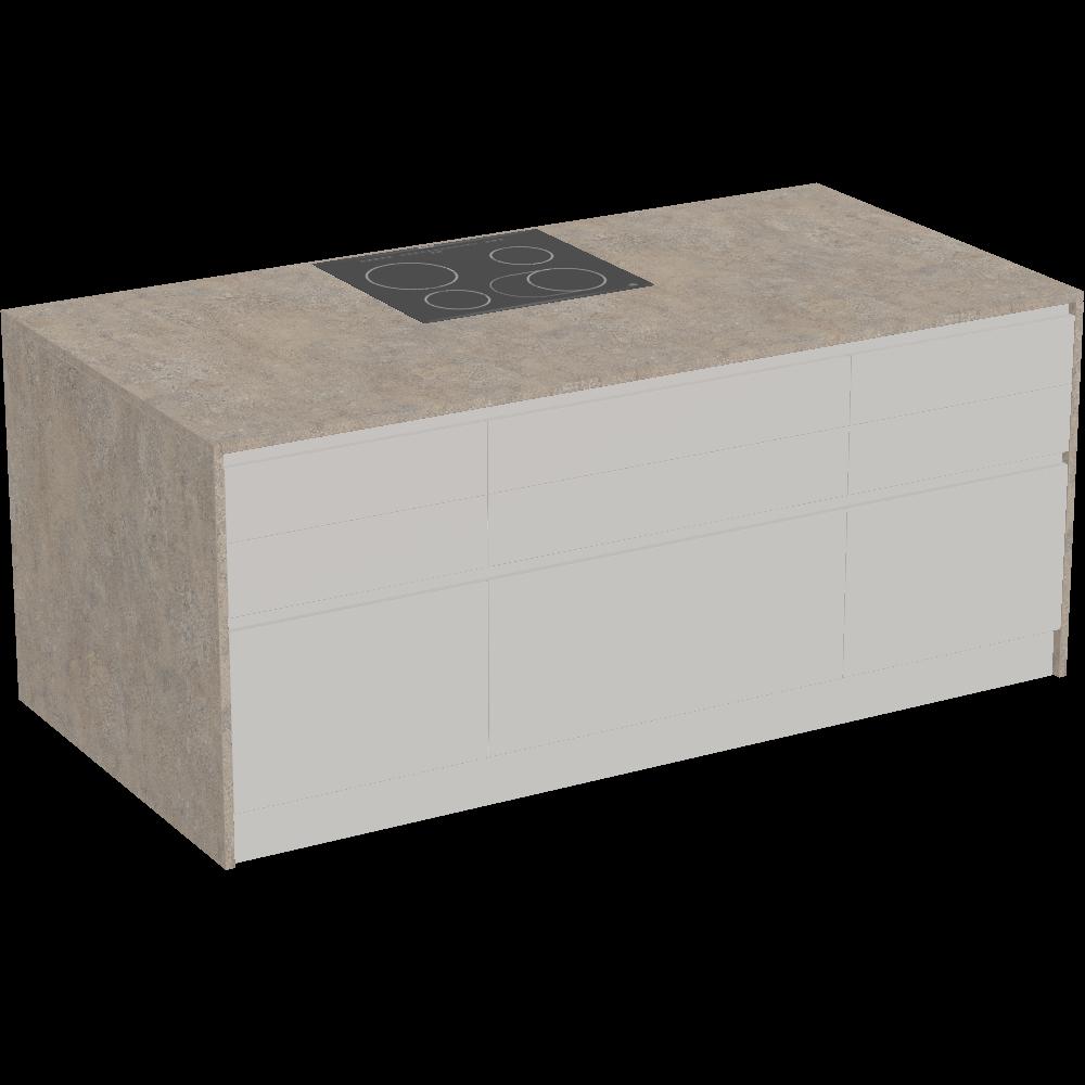 Probiere gratis VIDA Kücheninsel von EWE Produkte in 3D, VR und AR