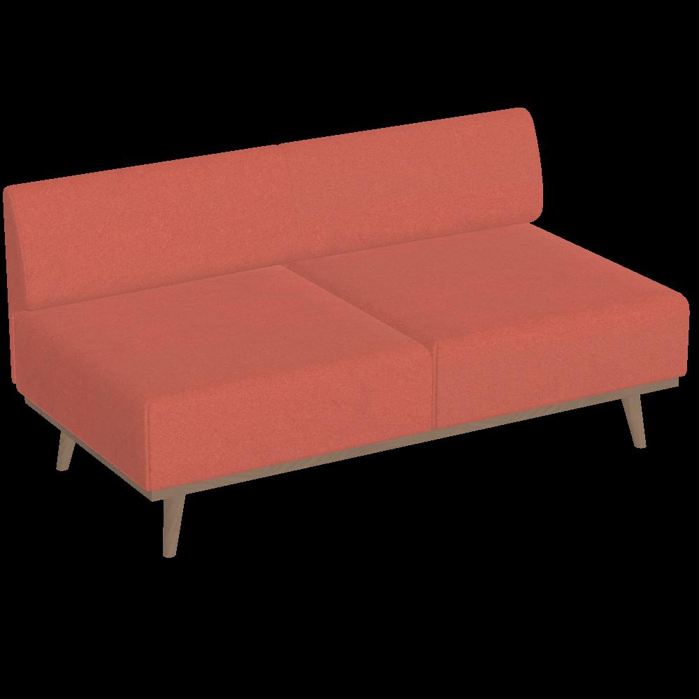 Tosca 3-Sitzer ohne Armlehnen