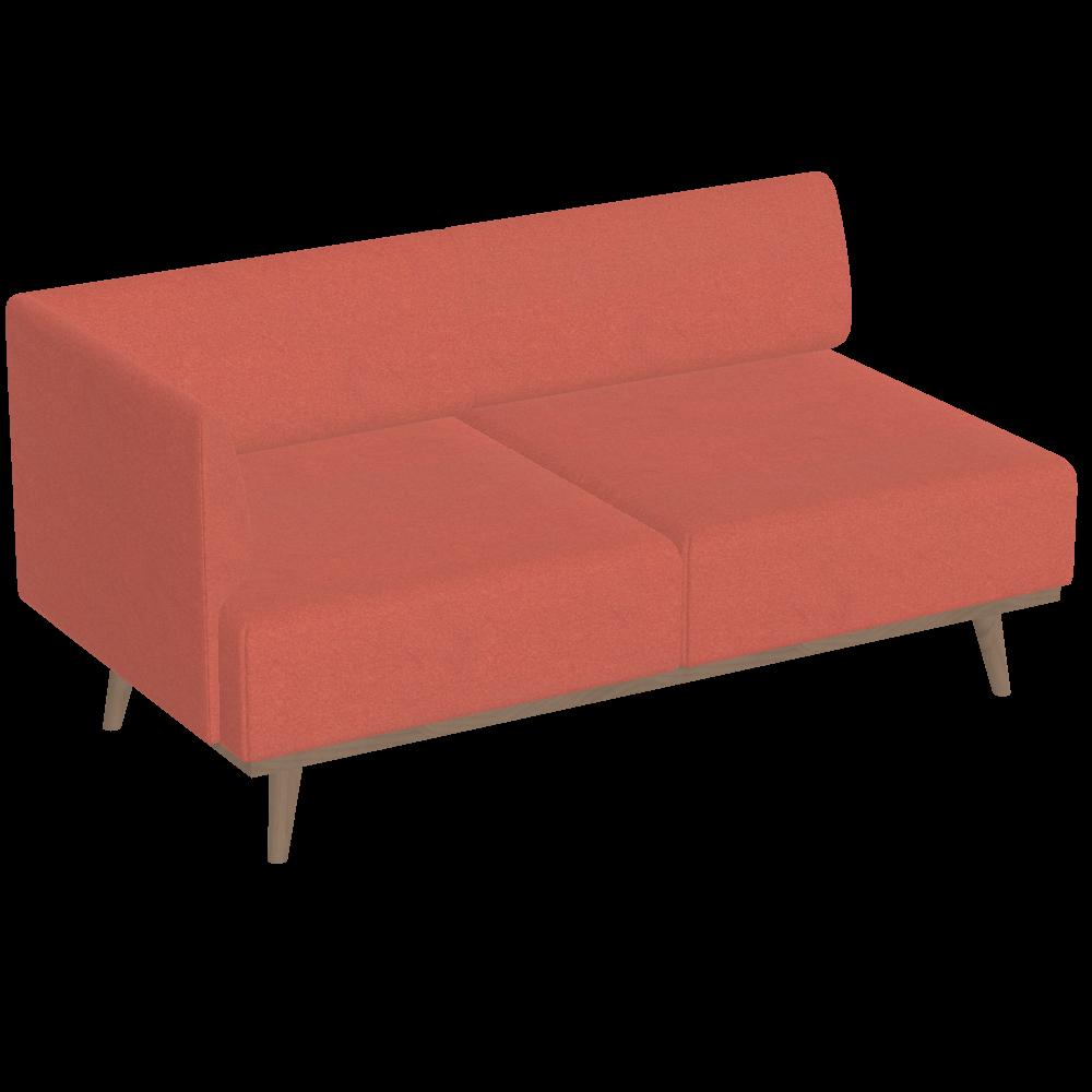Tosca 3-Sitzer mit einer Armlehne