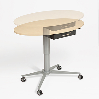 Stand-UP adjustable table
