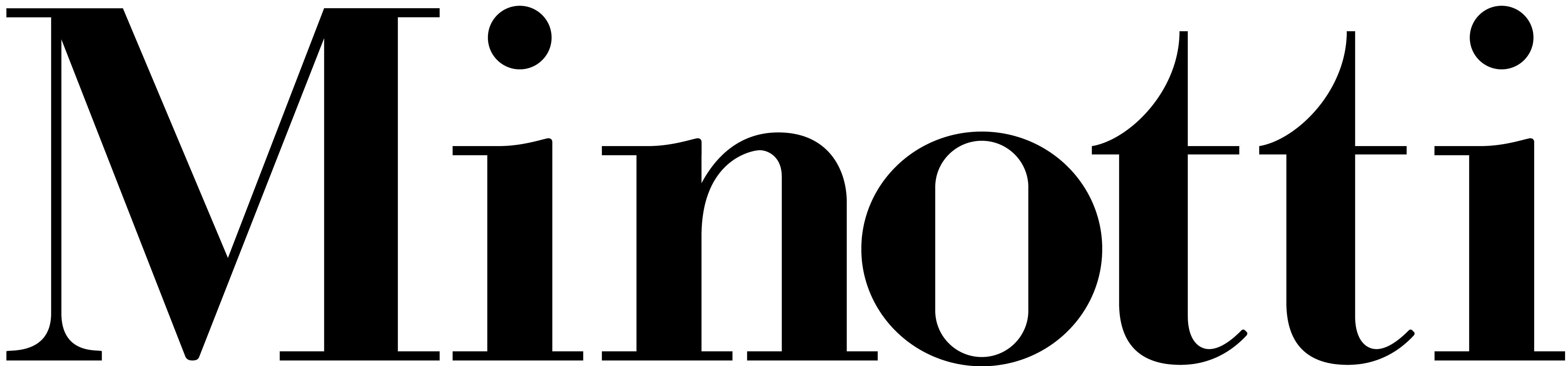 Logo of Minotti
