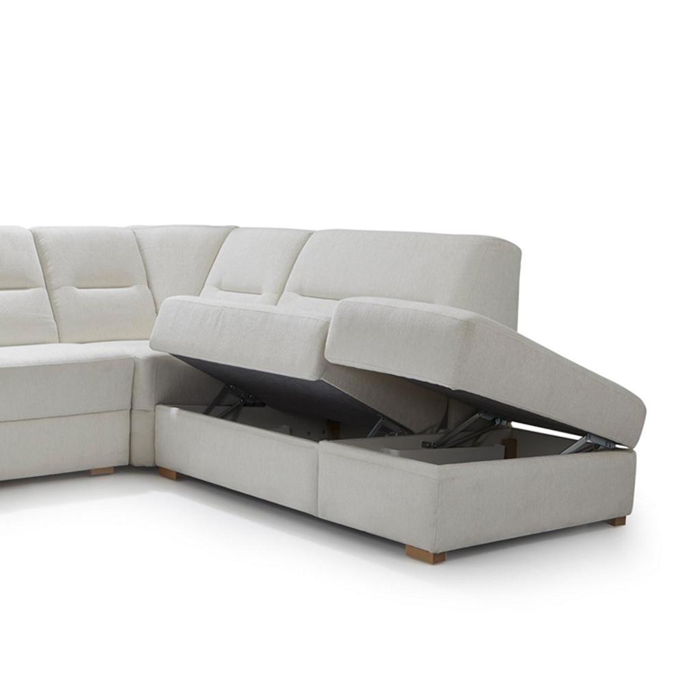 CUBUS - 2-Sitzer, Bank + Eckelement, 162 cm, Armteil