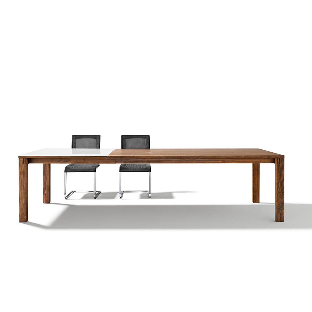 magnum extendable table, 100 cm 4 extension leaves