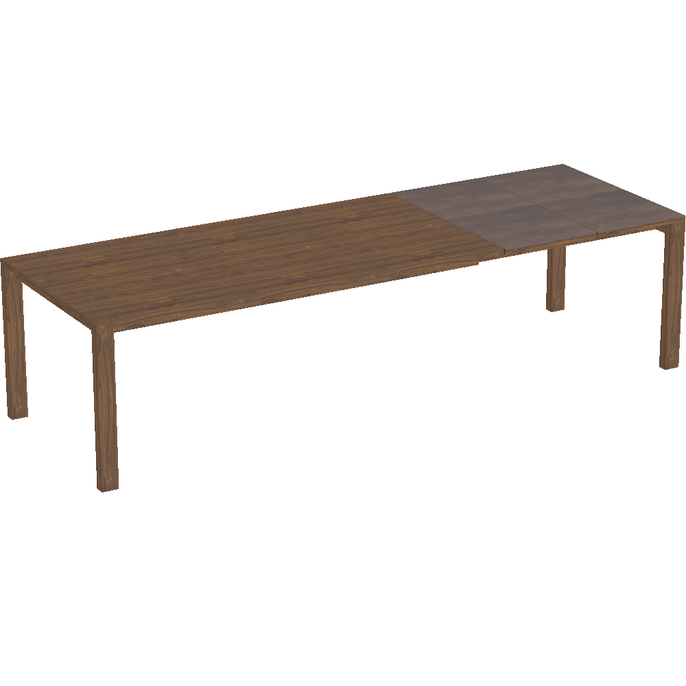 Preview of magnum extendable table, 100 cm 4 extension leaves